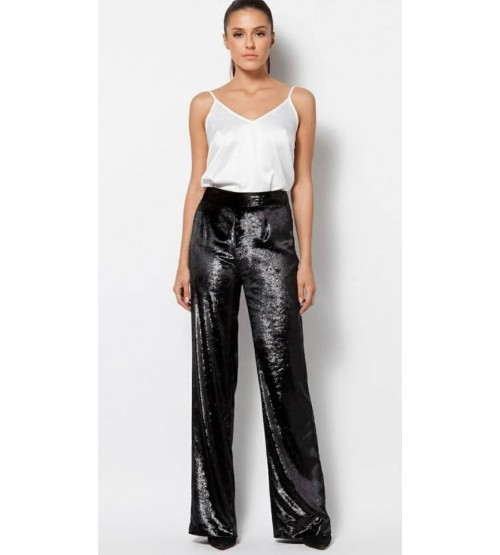 MM SELLINA TROUSERS BLACK